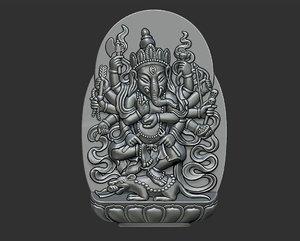 3D pendant jewelry statue