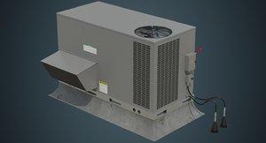 rooftop ac unit 2a 3D model