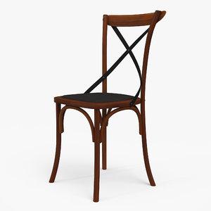 3D thonet chair model