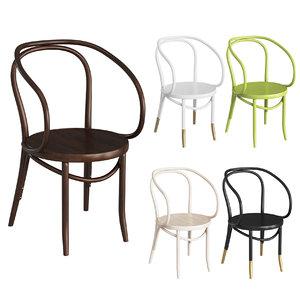 3D classic chair thonet b9 model