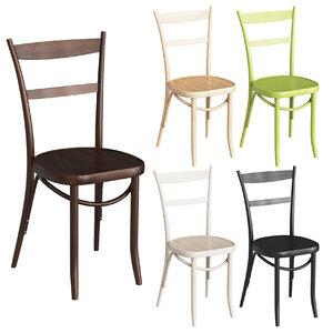 3D classic chair thonet 100