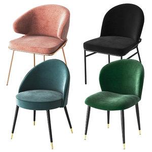3D eichholtz chairs