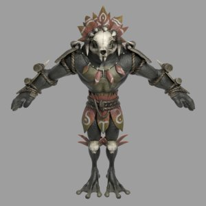 character animations model
