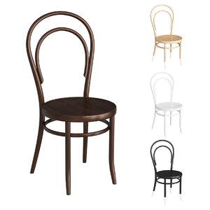 3D model thonet 14 vienna classic chair