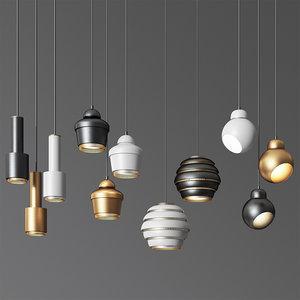 3D - pendant light 10 model