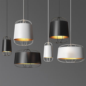 lanterna pendant light set model