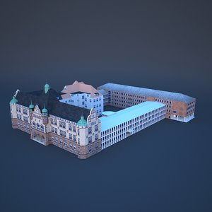 oberlandesgericht oldenburg 3D model