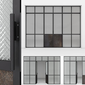 3D aluminium door 6