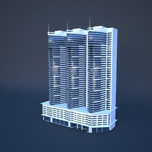 dubai adagio premium hotel 3D model