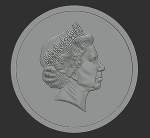 coin relief model