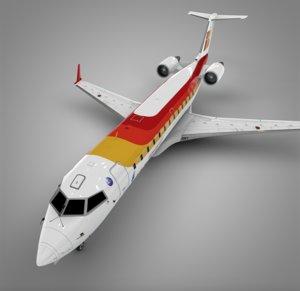 3D air nostrum iberia bombardier crj