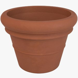 3D decorative pot