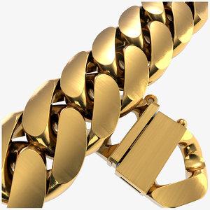 3D stl chain