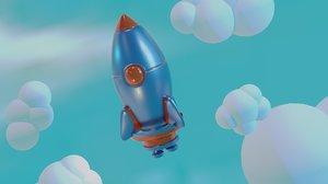 3D spaceship - abc