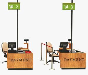 3D checkout payment model