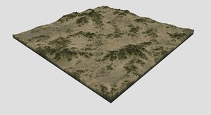 terrain maps model