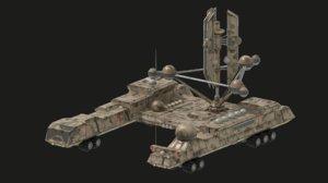 3D rover vehicle radar