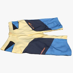 3D sport pants model