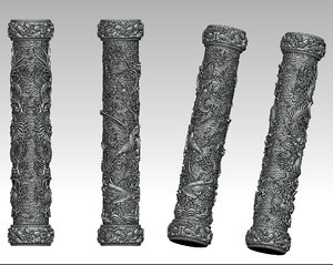 pillars dragon phoenix model