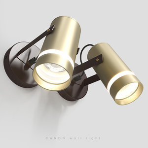 3D model contemporary wall light conan