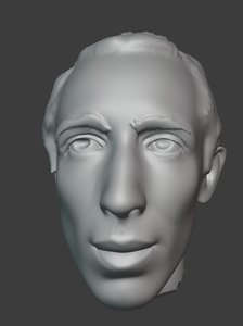 3D poet orhan veli model