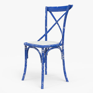 3D model thonet chair