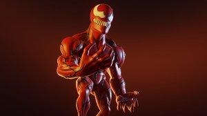 3D carnage chibi model