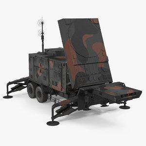 3D camouflage patriot mpq53 radar