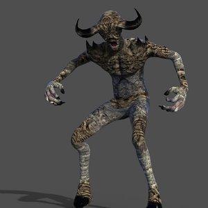 grave demon 3D model