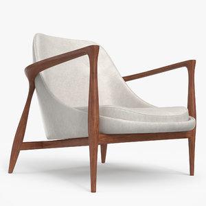 elisabeth chair 3D