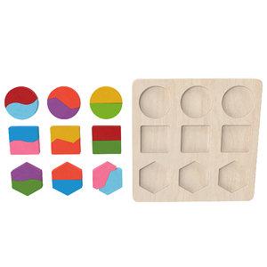 wood puzzle v3 3D