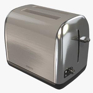 3D toaster metal