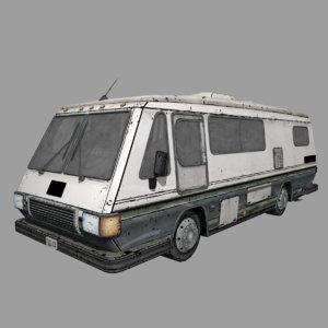 3D twd motorvan
