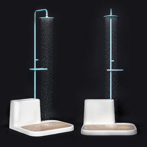 ista shower 3D