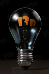 incandescent light bulb model