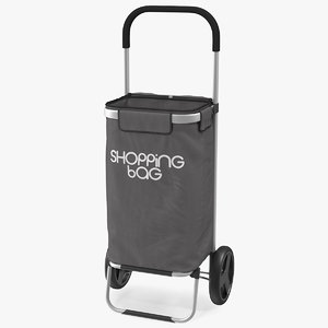 shopping trolley bag wheels model