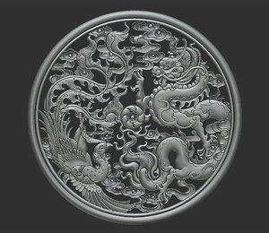 dragon phoenix 3D model