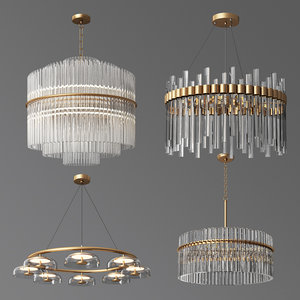 4 celing light 04 3D model