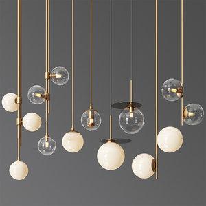 3D - pendant light 14