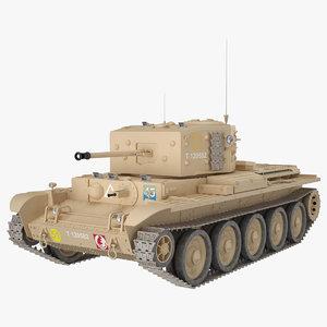 cromwell iv 27m desert 3D model