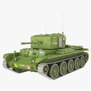 cromwell iv 27m green 3D model