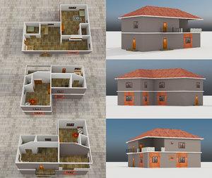 3D model - building