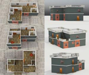 - building 3 model