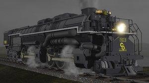 allegheny h-8 1601 train model