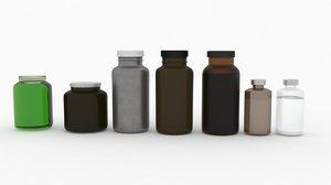 3D model bottles production