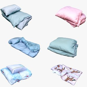 bedclothes decoration 3D model