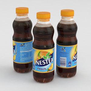 3D beverage bottle