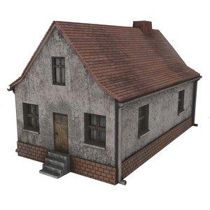 old village house 3D model