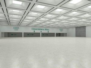 3D virtual exhibition hall