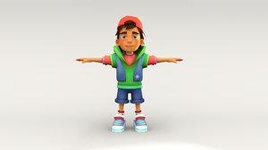 boy character 3D